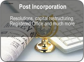 Post Incorporation Services